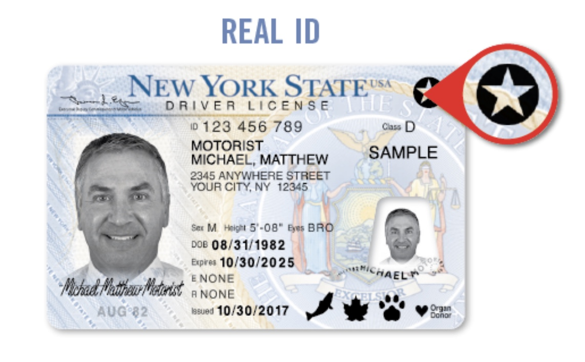- Broadcasting Flack Yorkers New Reminds Deadline Dmv October 'real Of 1 2020 Id'