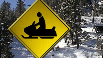 Snowmobile Crash 2